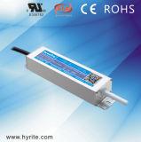 Fonte de alimentação magro impermeável ao ar livre do diodo emissor de luz IP67 do excitador do diodo emissor de luz de Hyrite 12/24V 20W com o Bis SAA TUV de RoHS do Ce