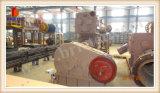 벽돌 생산 라인에 있는 비산회 벽돌 만들기 기계