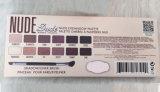La gama de colores desnuda del sombreador de ojos del tipo de las FAVORABLES gamas de colores cosméticas del maquillaje de los colores del bálsamo 12