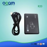 R20 micro leitor 125kHz do smart card do USB RFID