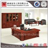 Классицистический стол директора офиса Veneer твердой древесины конструкции (NS-SL002)