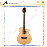 Chitarra elettrica acustica d'acciaio della chitarra dei capretti