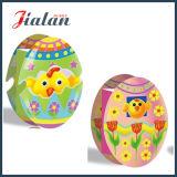 A forma do ovo imprimiu o saco de papel do projeto feito sob encomenda original de Easter da forma