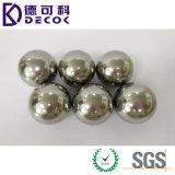 Esfera inoxidável chapeada cromo do sólido da esfera de aço de /304 da esfera 52100