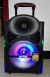 12inch Smart Wireless Bluetooth Trolley Speaker con Light Remote Cx-17D