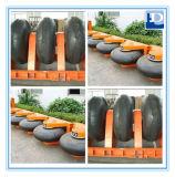 Tipo de goma tipo defensa del rodillo de la defensa del neumático de la rueda del muelle