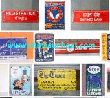 Sunboat a personnalisé le panneau de signe d'émail, panneau d'avertissement de poteau de signalisation d'émail