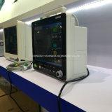 Portable do quarto de ICU monitor do paciente hospitalizado de um multiparâmetro de 15 polegadas
