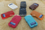 전화 Accessories, Samsung Galaxy S4 Siv I9500 Battery Cover를 위한 New Leather Material Phone Case