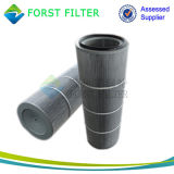 Forst 폴리에스테 공기 원통 모양 필터 카트리지