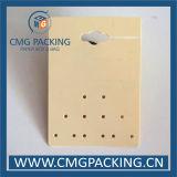 Tarjeta de sellado caliente colorida de la visualización del espárrago del pendiente (CMG-101)