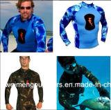 2016 новое камуфлирование Spearfishing/, мокрая одежда, оборудование подныривания, занимаясь серфингом, Swimwear. 13