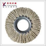 Roda de alumínio do sisal da moedura de superfície do cobre do aço inoxidável do metal