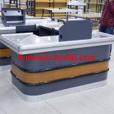 Supermarkt-Kassierer-Prüfungs-Kostenzähler-Tisch für Verkauf