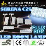 des Selbstauto-12V Innenraum-Licht-Lampe abdeckung-der Anzeigen-LED für Serie Nissan-Serena C25 C26