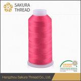 Cuerda de rosca viscosa del bordado de la clase Oeko-Tex100 1 para tejer
