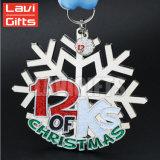 Modèle de propriétaires estampant la médaille spécialisée en métal de sport d'hiver