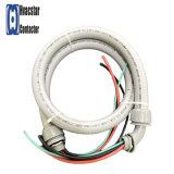 """1/2 """" X4', 10AWG wasserdicht, Klimaanlagen-elektrische Peitsche-Klimaanlagen-Rohr-Peitsche--Metallisch"""