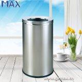 층 둥근 열려있는 최고 쓰레기 대 쓰레기통, 폐기물 쓰레기통