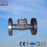 Vanne de retenue à pistons à bride en acier compacte de 150 lb / 300 lb / 600 lb (GAH41H)