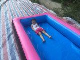 Neue fertige aufblasbare Luft-Spur mit Swimmingpool
