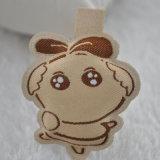 Escritura de la etiqueta tejida Fullfilled del algodón para la ropa