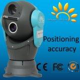 A câmera térmica IP66 da abóbada do sensor duplo da montagem do veículo de fiscalização de Digitas da segurança Waterproof o carro