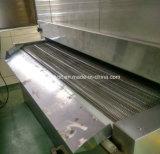 O túnel rápido do gelo do alimento endurece o congelador rápido do túnel IQF