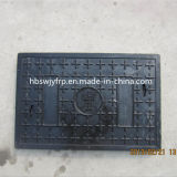 Diamètre 600mm de FRP Polymer Resin Square Manhole Covers