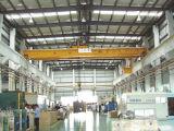 전기 호이스트 드는 기계장치를 가진 강철 구조물 사용 두 배 대들보 천장 기중기 브리지 기중기