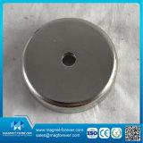 강한 네오디뮴 위쪽을 넓힌 구멍 훅을%s 가진 자석 남비 자석 또는 컵