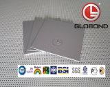 Painel composto de alumínio do poliéster de GLOBOND (branco PE-314 leitoso)