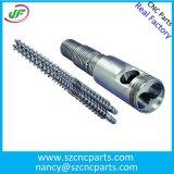 O CNC da máquina de trituração do alumínio 6061 parte a peça da máquina Drilling do OEM