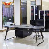 Tabella moderna dell'ufficio dell'olmo stile nero della qualità superiore di nuovo