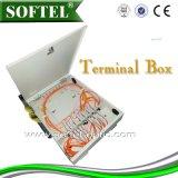 [Softel] IP65 rectángulo de distribución al aire libre de las telecomunicaciones FTTH