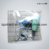 PET mit Reißverschluss Plastiktasche für elektronischen Zubehör-Schutz
