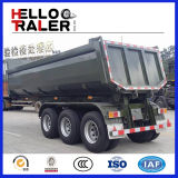 3 Axle бортовые подъема тележка сброса трейлера Semi/трейлер Tipper Китая