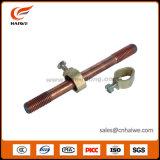 高品質の製造業者の銅の覆われた鋼鉄担保付きの接地棒