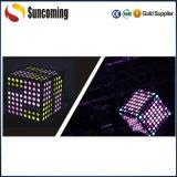 3D Magic Colorful Cube DMX LED-Stab-Licht