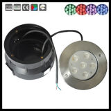Lumière de piscine de l'acier inoxydable 6With18W IP68 RVB DEL