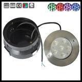 스테인리스 6W 18W LED 표면 마운트 수영장 수중 빛