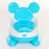 Asiento de tocador de Botty del bebé del material plástico para los niños Defcation