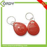 Красное keyfob контроля допуска fob AB0002 перезаписывающийся EM4305 125kHz ключевое