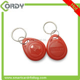 Rotes AB0002 rewritable EM4305 125kHz Schlüsselfob-Zugriffssteuerung keyfob