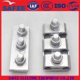 Tornillos de la abrazadera With2/3 del surco del paralelo del aluminio de la alta calidad de China