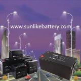 Sonnenenergie-Leitungskabel-saure Gel-Batterie 12V100ah für Straßenlaterne