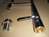 O cromo de bronze luxuoso retira os Faucets grandes da cozinha (HJ-9224)