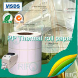 Documento sintetico stampabile dei pp per i materiali autoadesivi del fronte del contrassegno