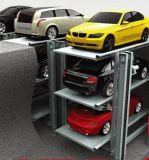 1 ruimte voor de Lift van het Parkeren 3cars Inground