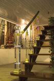 가정 훈장을%s 형식 수정같은 유리 층계 방책 기둥 부속품